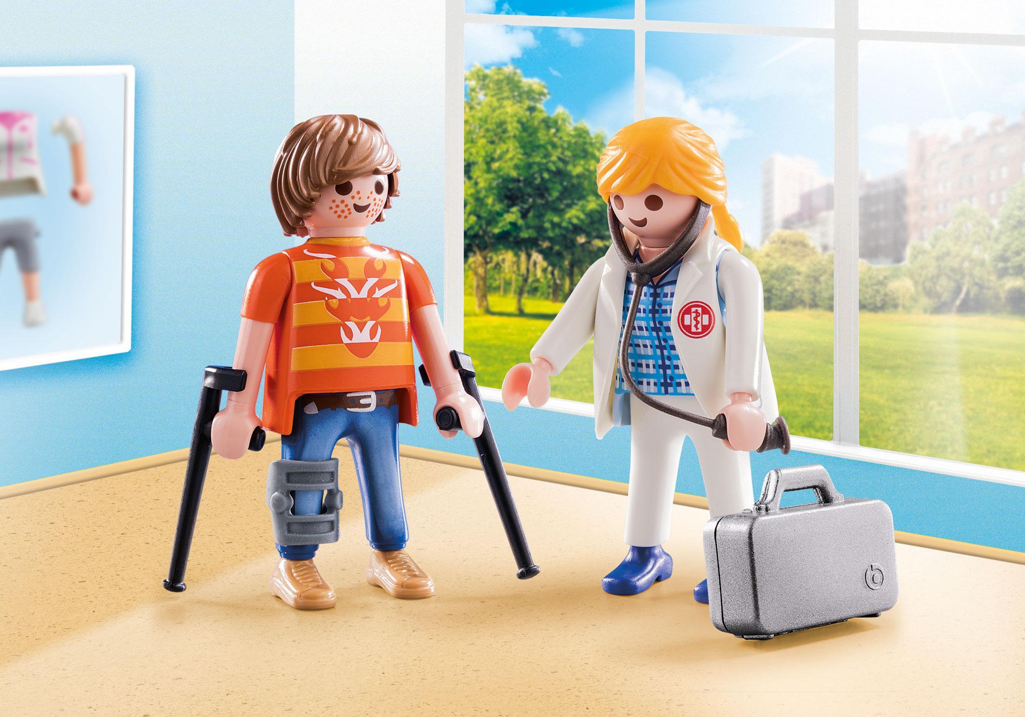 http://media.playmobil.com/i/playmobil/70079_product_detail/Dokter en patiënt