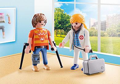 70079 DuoPack Ärztin und Patient