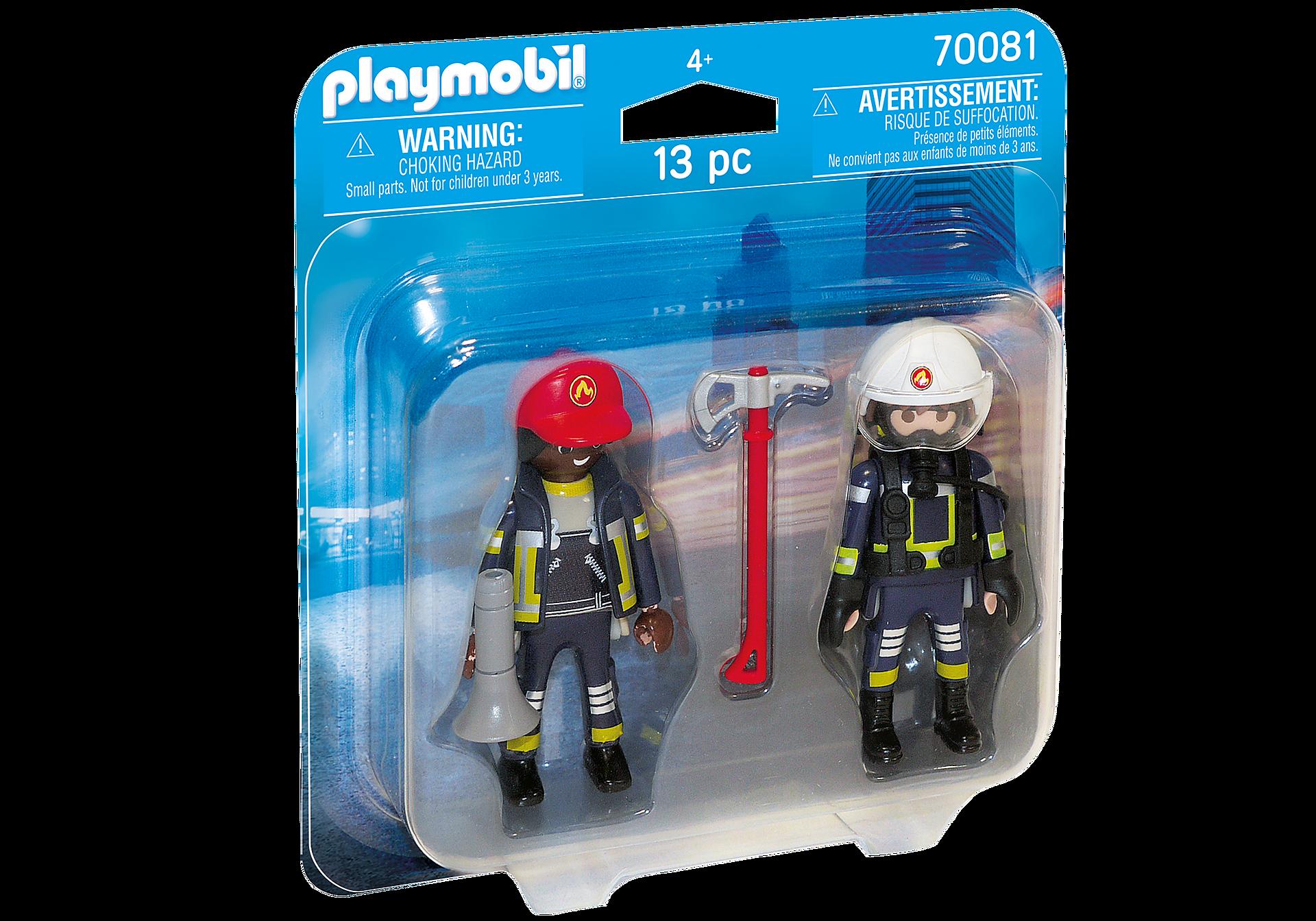 70081 DuoPack Feuerwehrmann und - Frau zoom image2