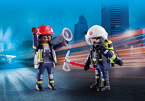 70081 DuoPack Feuerwehrmann und - Frau