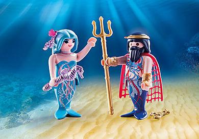 70082 Duo Pack Βασιλιάς της Θάλασσας και Γοργόνα