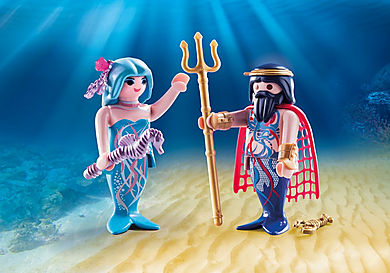 70082 King of the sea and Mermaid
