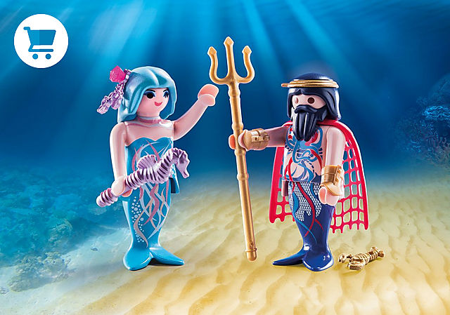 70082_product_detail/Sea King and Mermaid