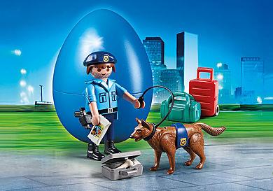 70085 Policier avec chien