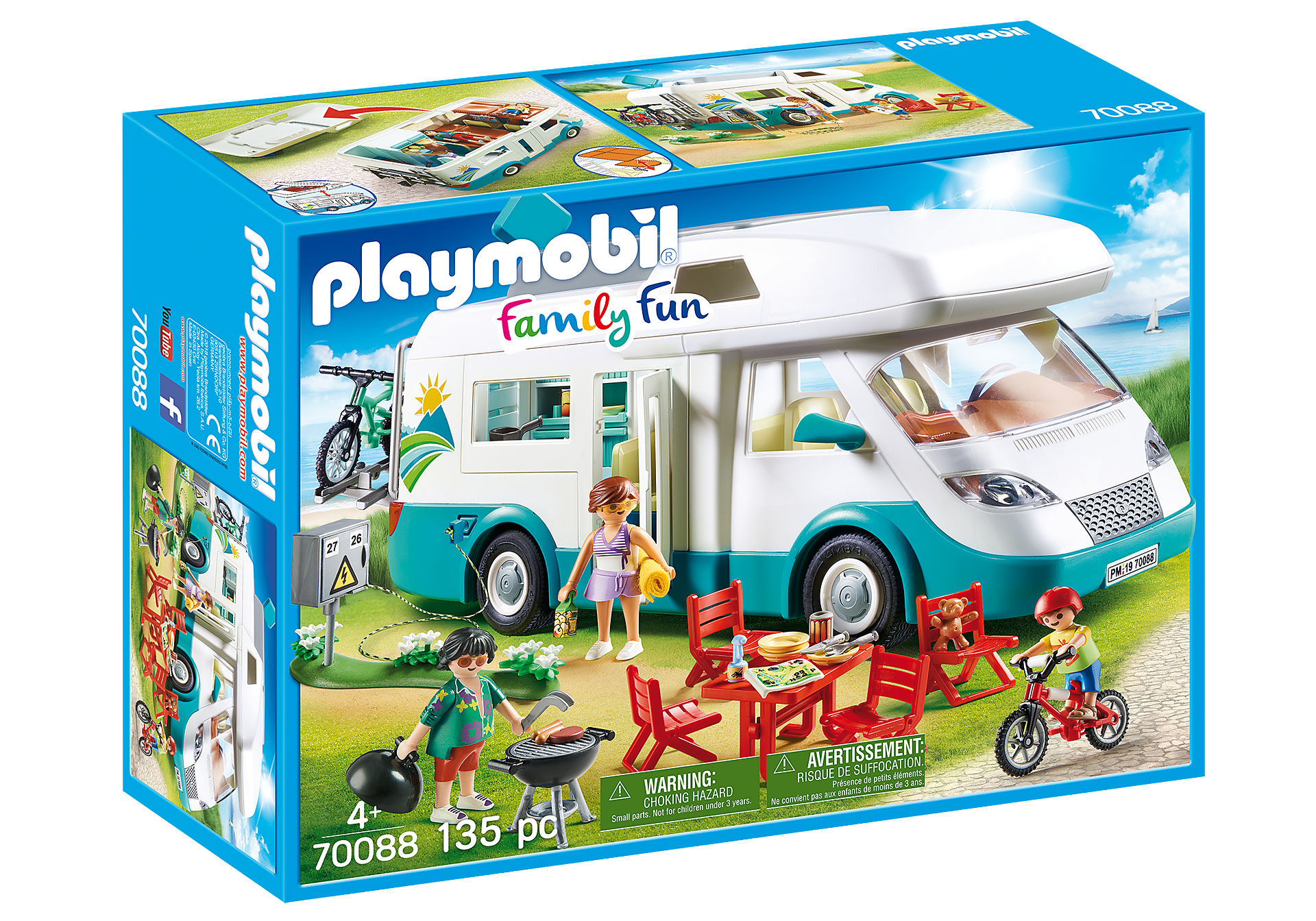 70088 Mobilhome met familie zoom image2
