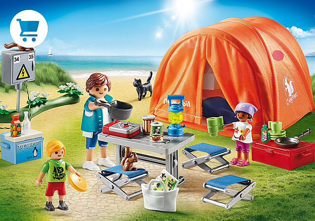 70089_product_detail/Kampeerders met tent