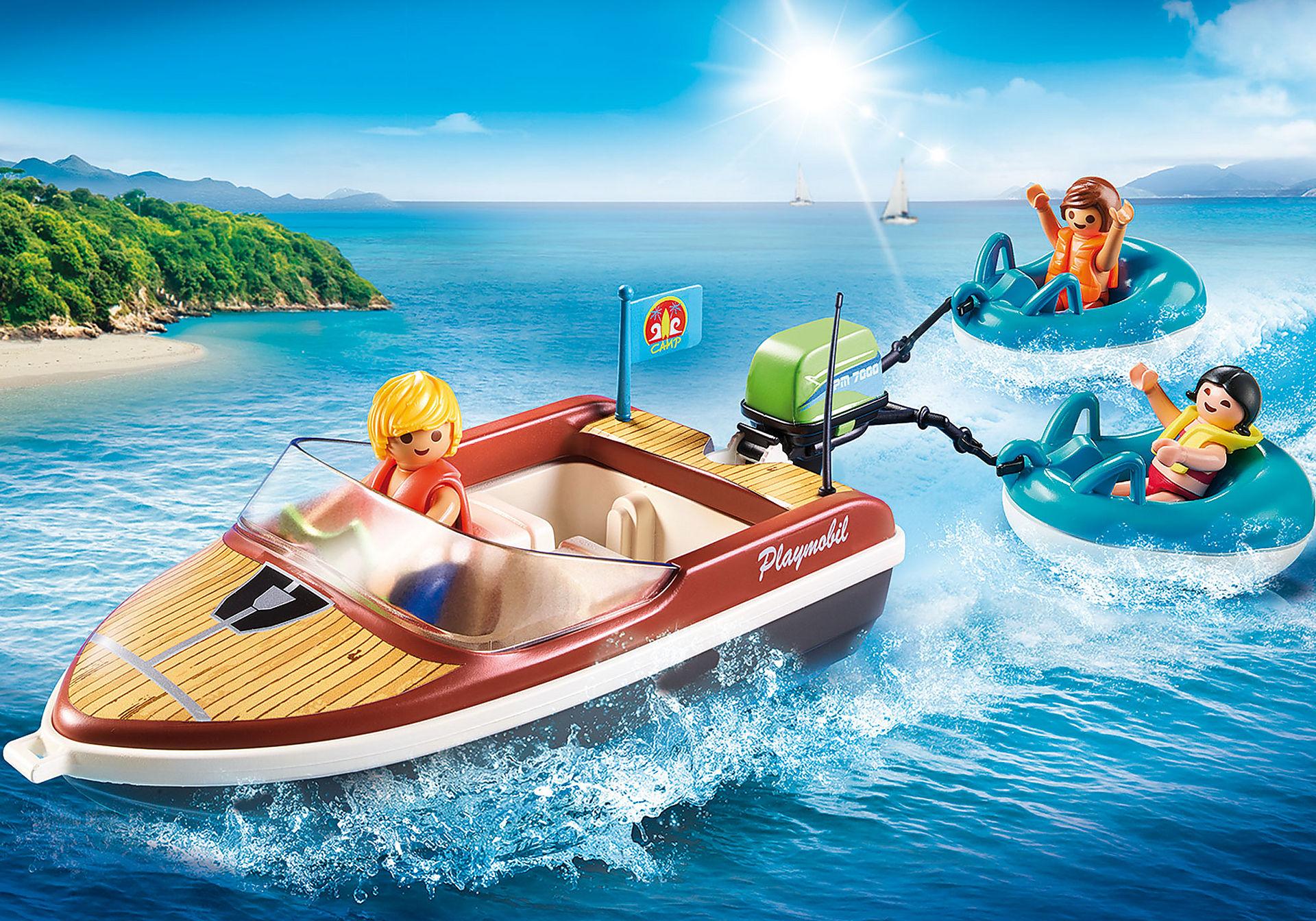 70091 Speedbåd med baderinge zoom image1