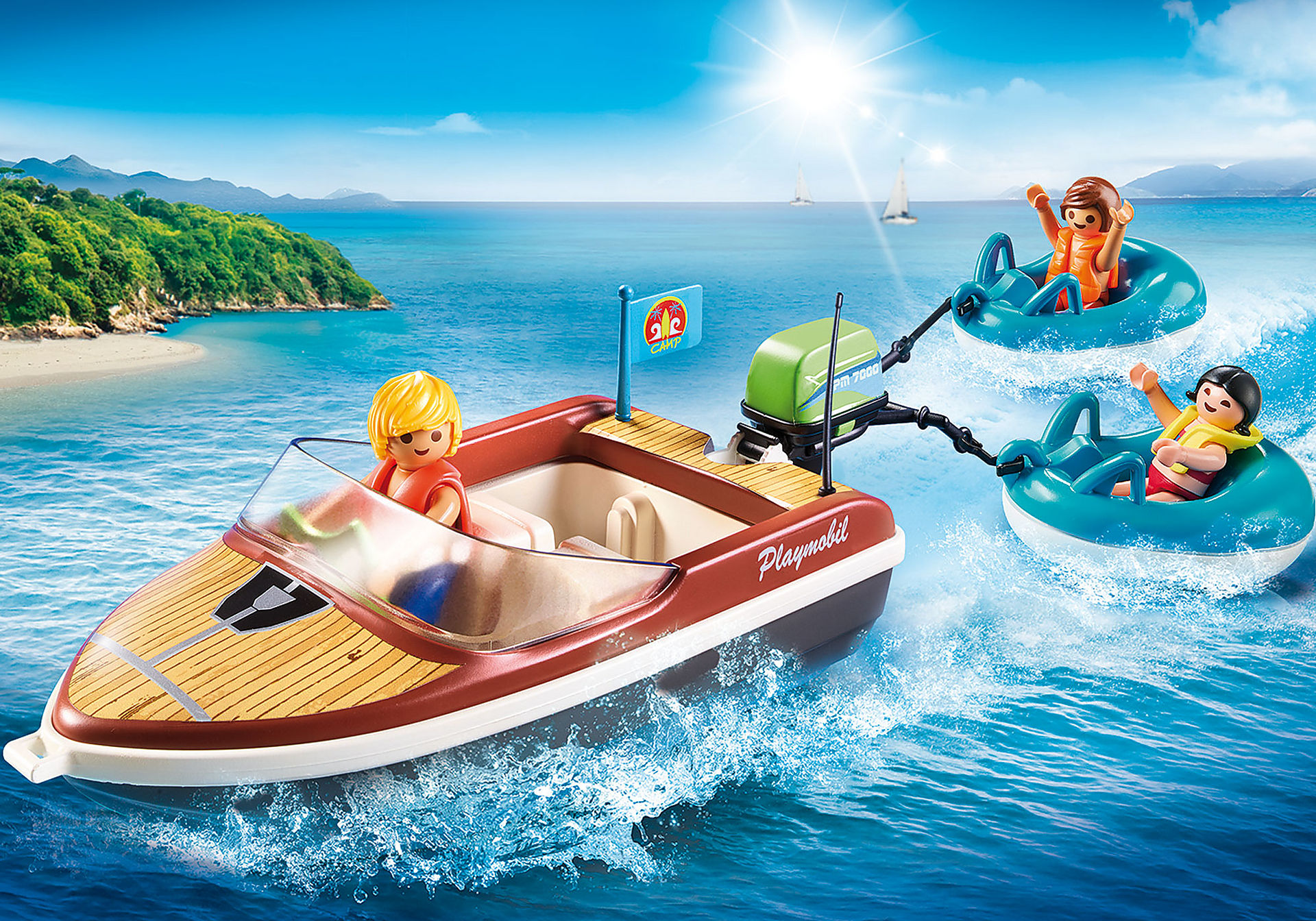 70091 Sportboot mit Fun-Reifen zoom image1
