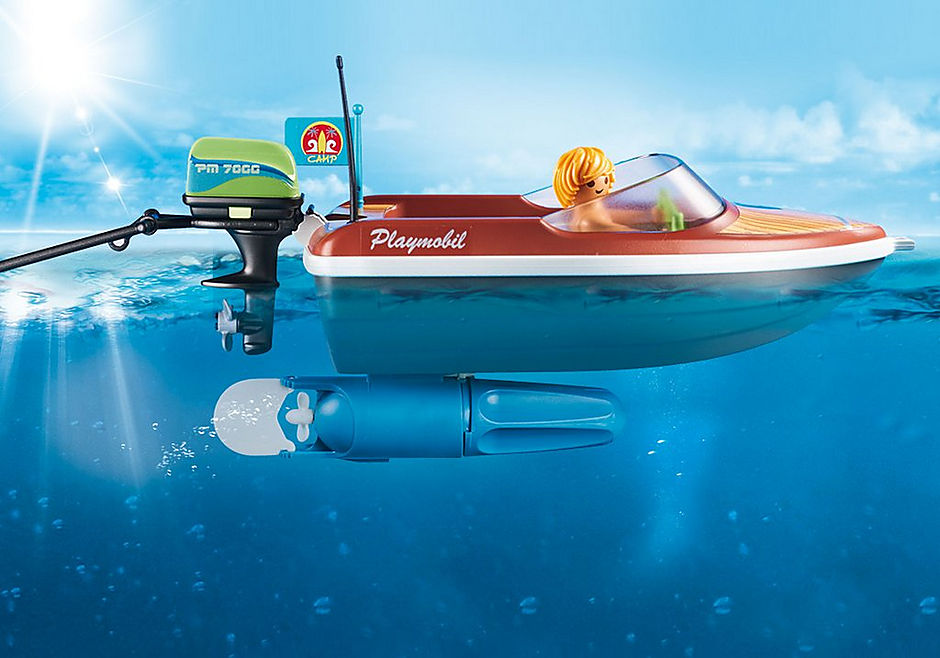 70091 Speedbåd med baderinge detail image 4