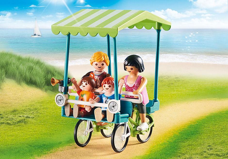 70093 Famiglia in bicicletta detail image 4