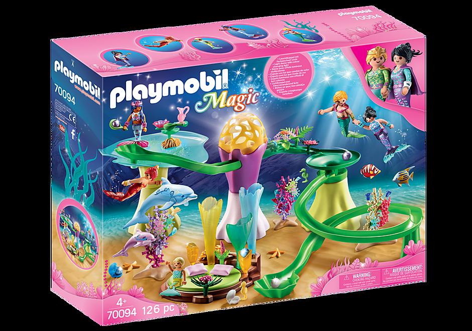 Mermaid Cove with Illuminated Dome - 70094 - Playmobil