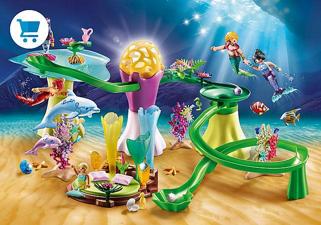 70094_product_detail/Korallenpavillon mit Leuchtkuppel