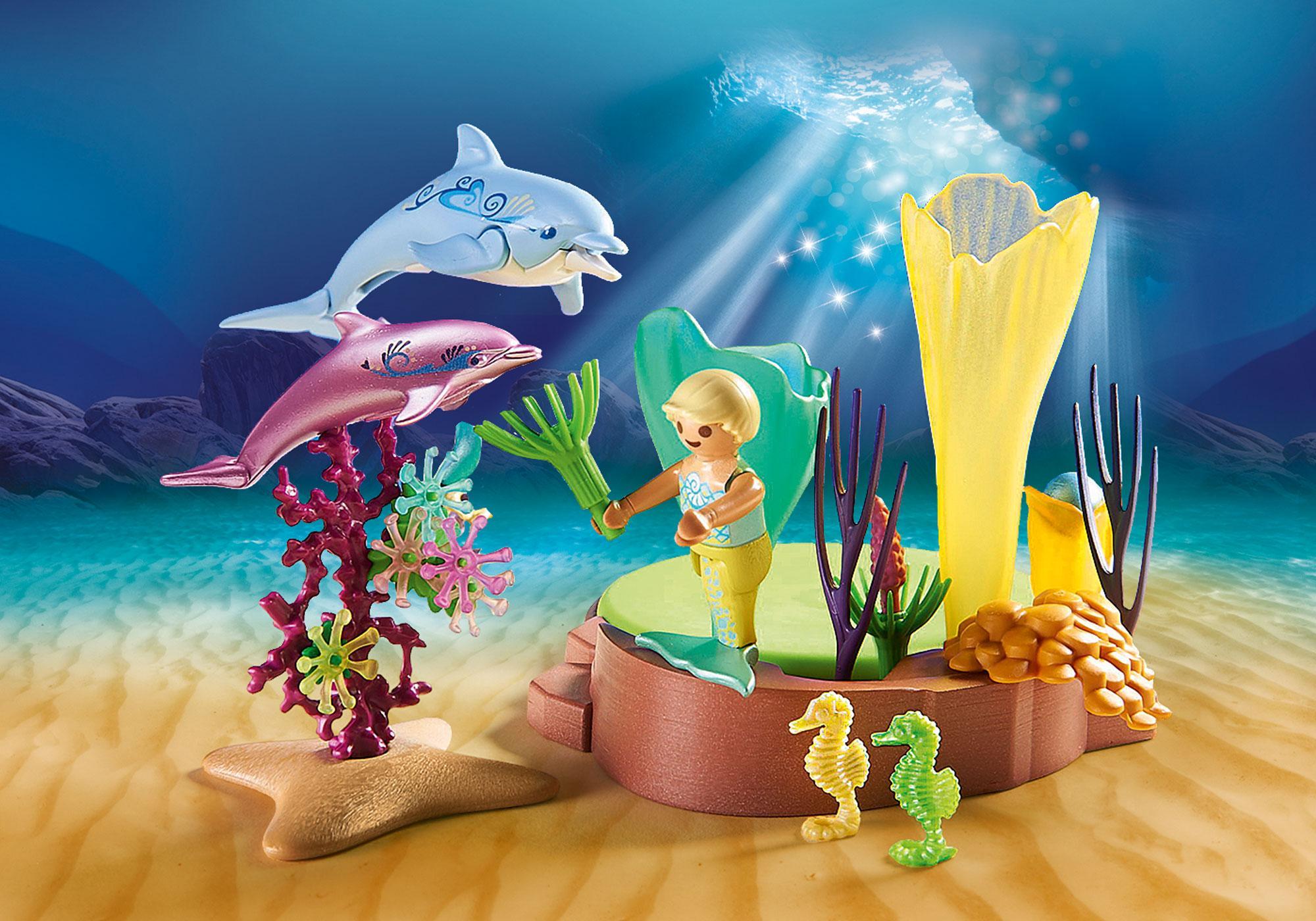 http://media.playmobil.com/i/playmobil/70094_product_extra1/Korallenpavillon mit Leuchtkuppel