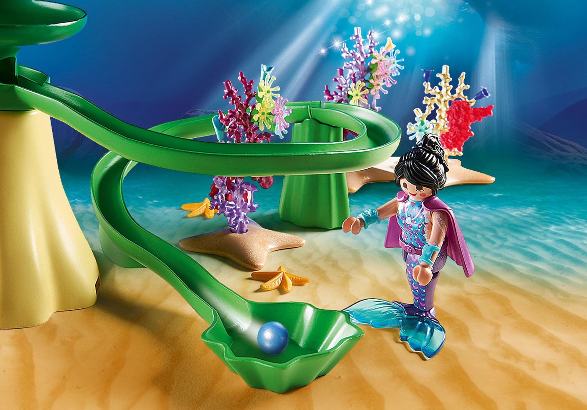 http://media.playmobil.com/i/playmobil/70094_product_extra2/Korallenpavillon mit Leuchtkuppel