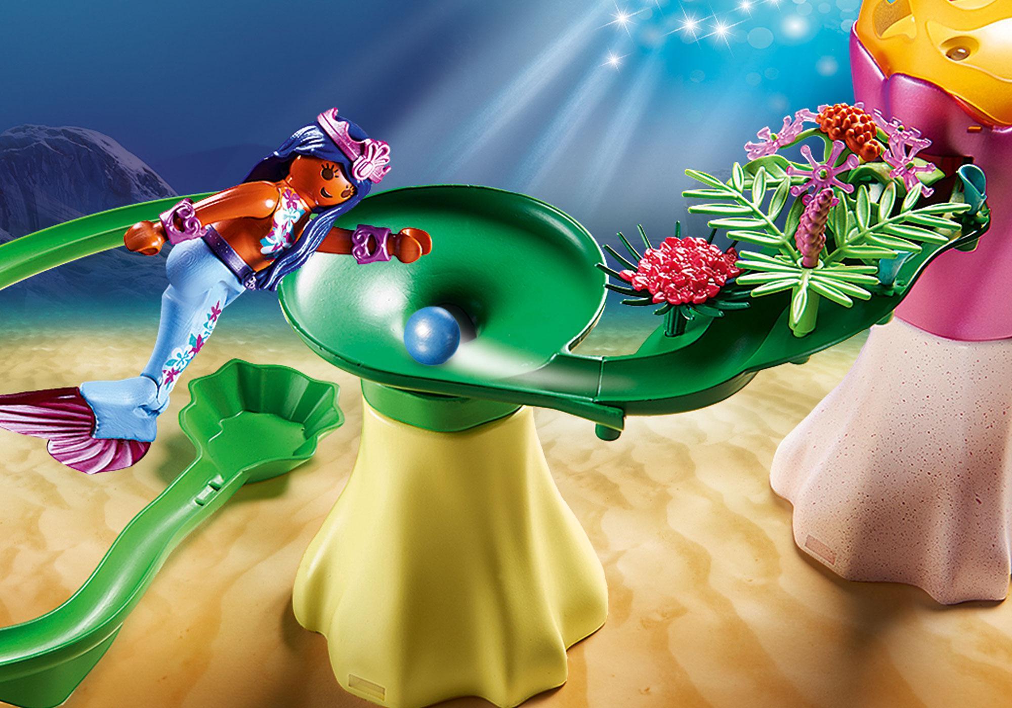 http://media.playmobil.com/i/playmobil/70094_product_extra4/Koraalpaviljoen met lichtkoepel