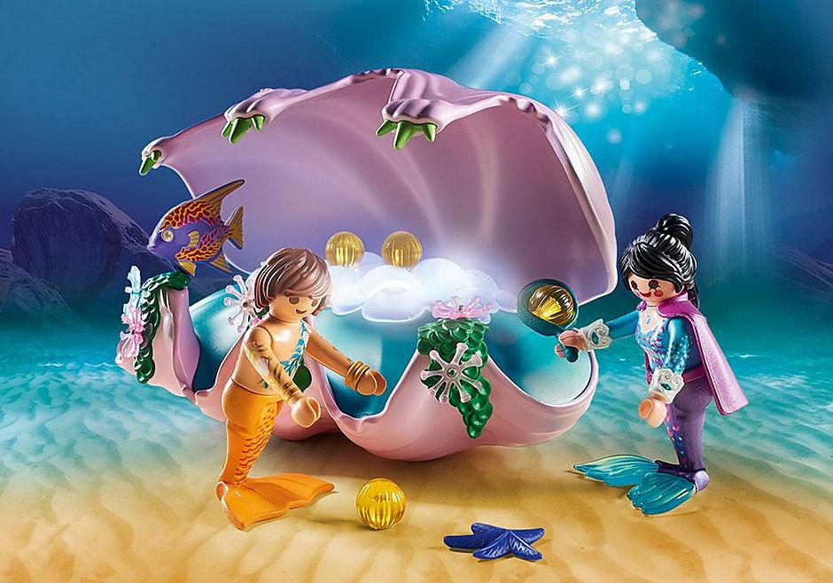 http://media.playmobil.com/i/playmobil/70095_product_extra3/Coquillage lumineux avec sirènes