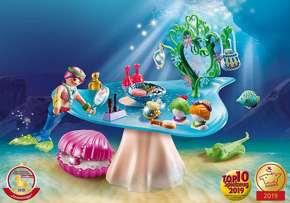 70096 Schoonheidssalon met zeemeermin detail image 1