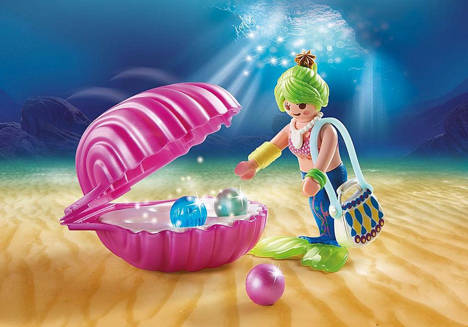 70096 Schoonheidssalon met zeemeermin detail image 4