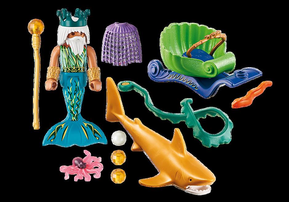 70097 Król morza z rekinem detail image 3