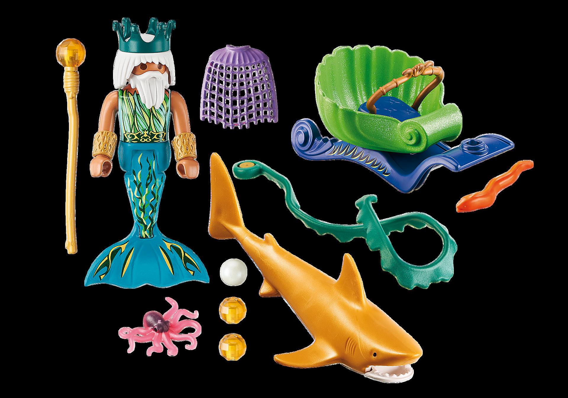 70097 Roi des mers avec calèche royale  zoom image3