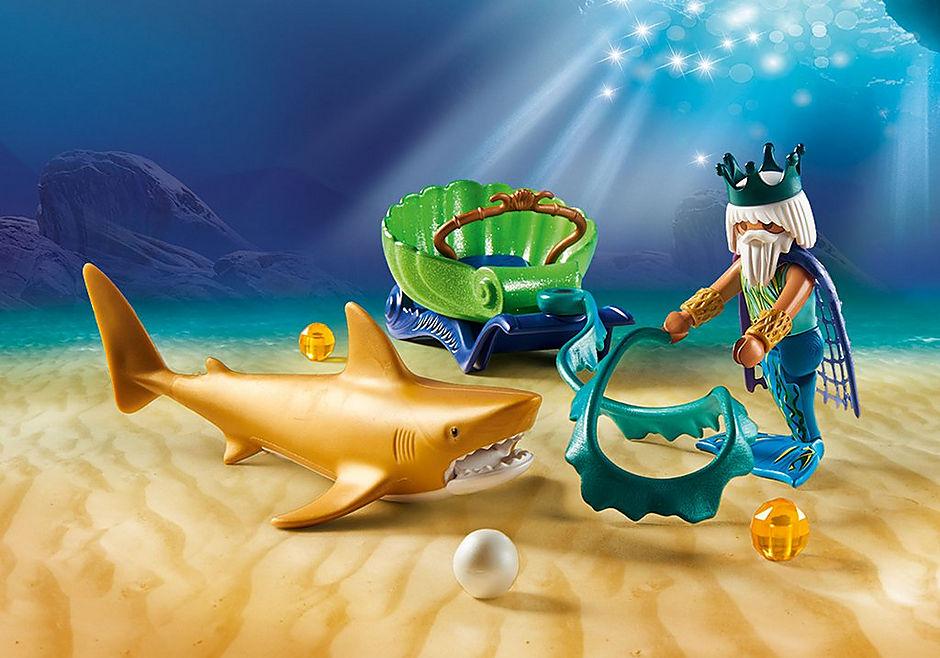 70097 Roi des mers avec calèche royale  detail image 4