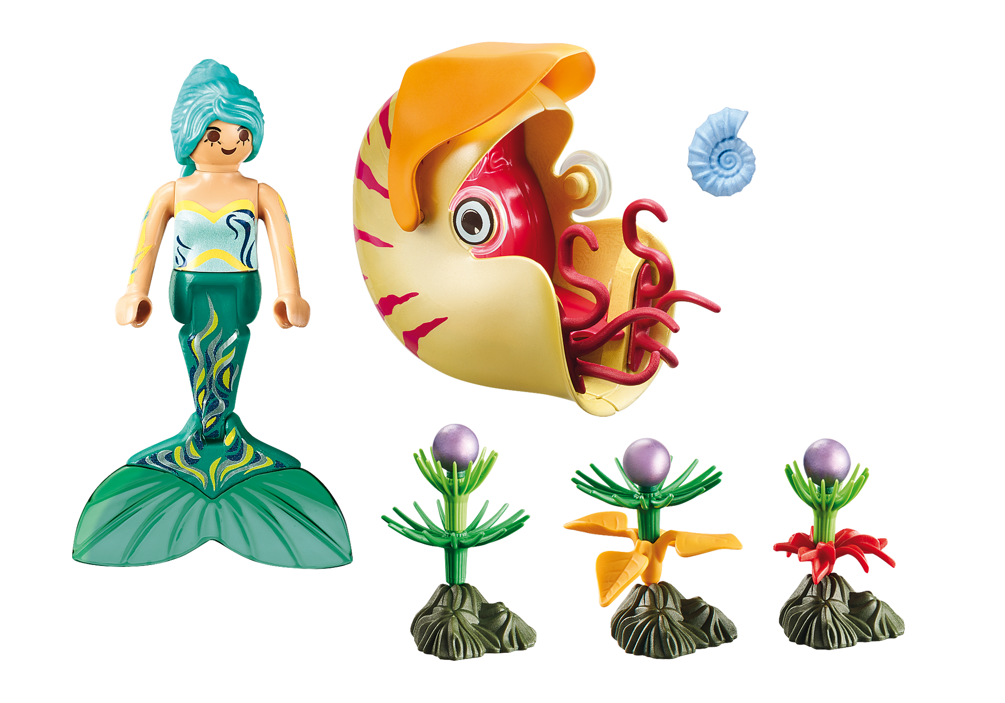 http://media.playmobil.com/i/playmobil/70098_product_box_back/Sirène avec escargot des mers