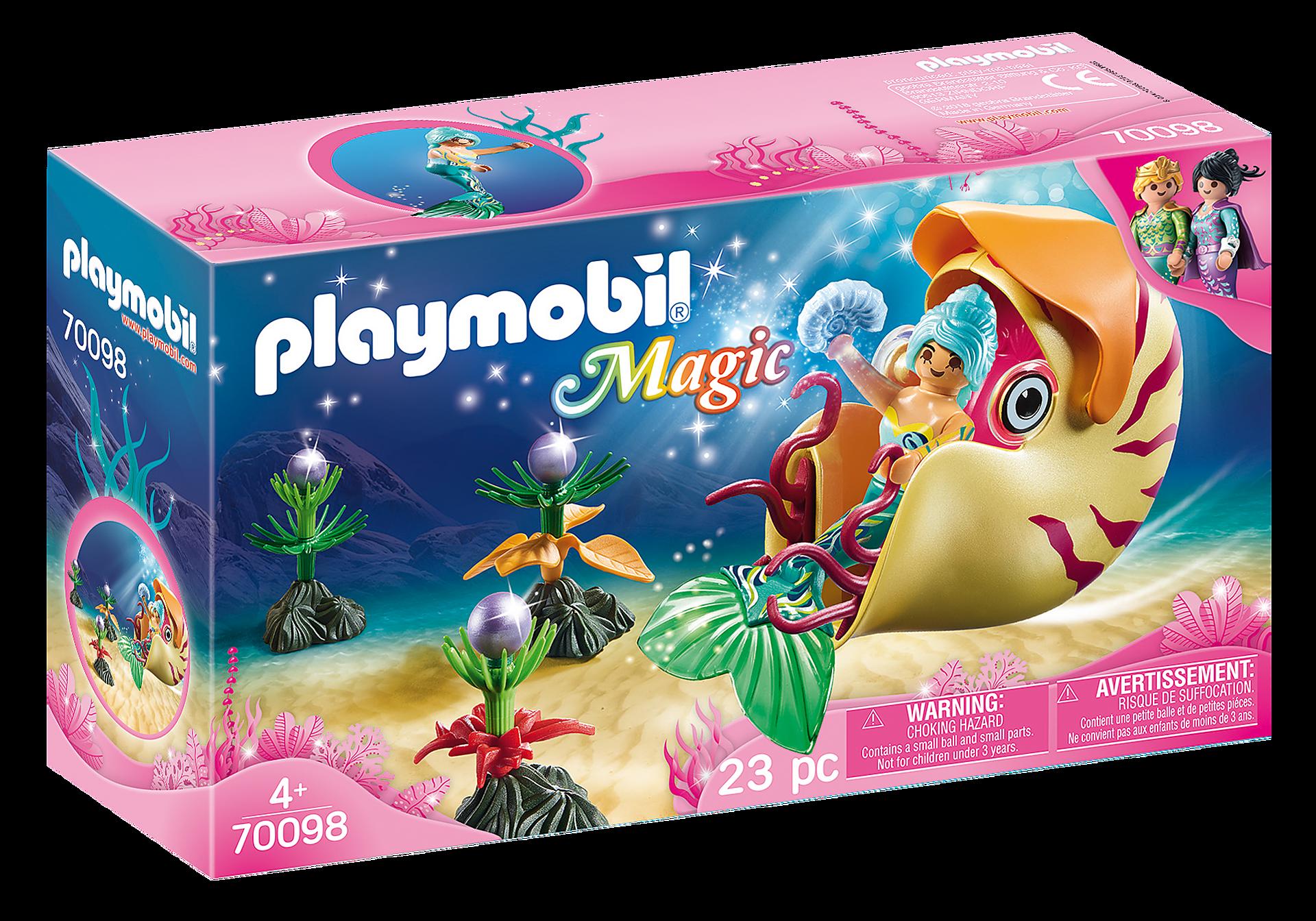 http://media.playmobil.com/i/playmobil/70098_product_box_front/Meerjungfrau mit Schneckengondel