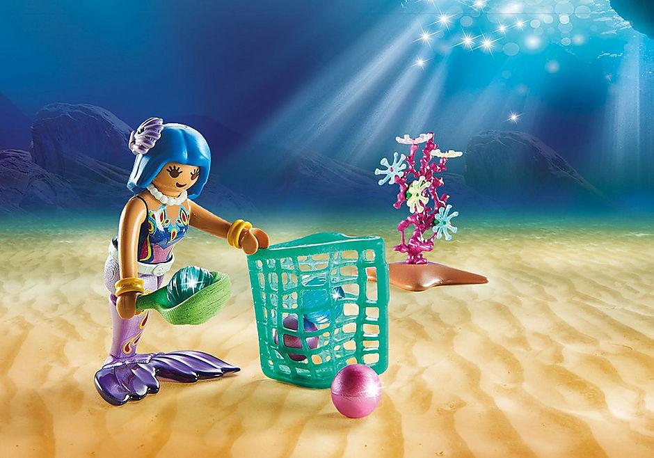 70099 Perlensammler mit Rochen detail image 5
