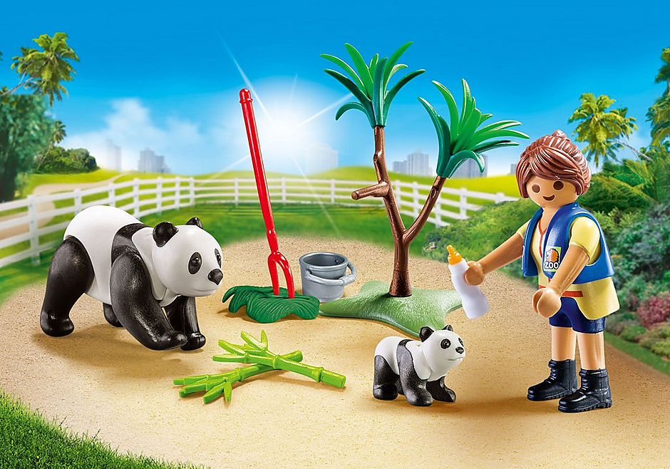 70105 Panda Caretaker Carry Case S detail image 1