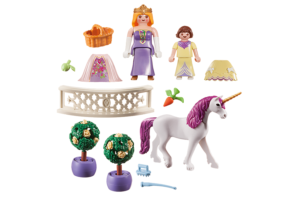 http://media.playmobil.com/i/playmobil/70107_product_box_back/Maleta grande Princesas e Unicórnio