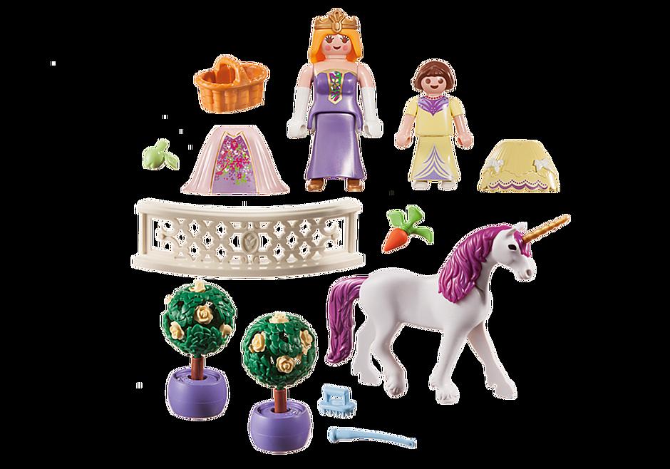 70107 Valisette Princesses avec licorne detail image 3