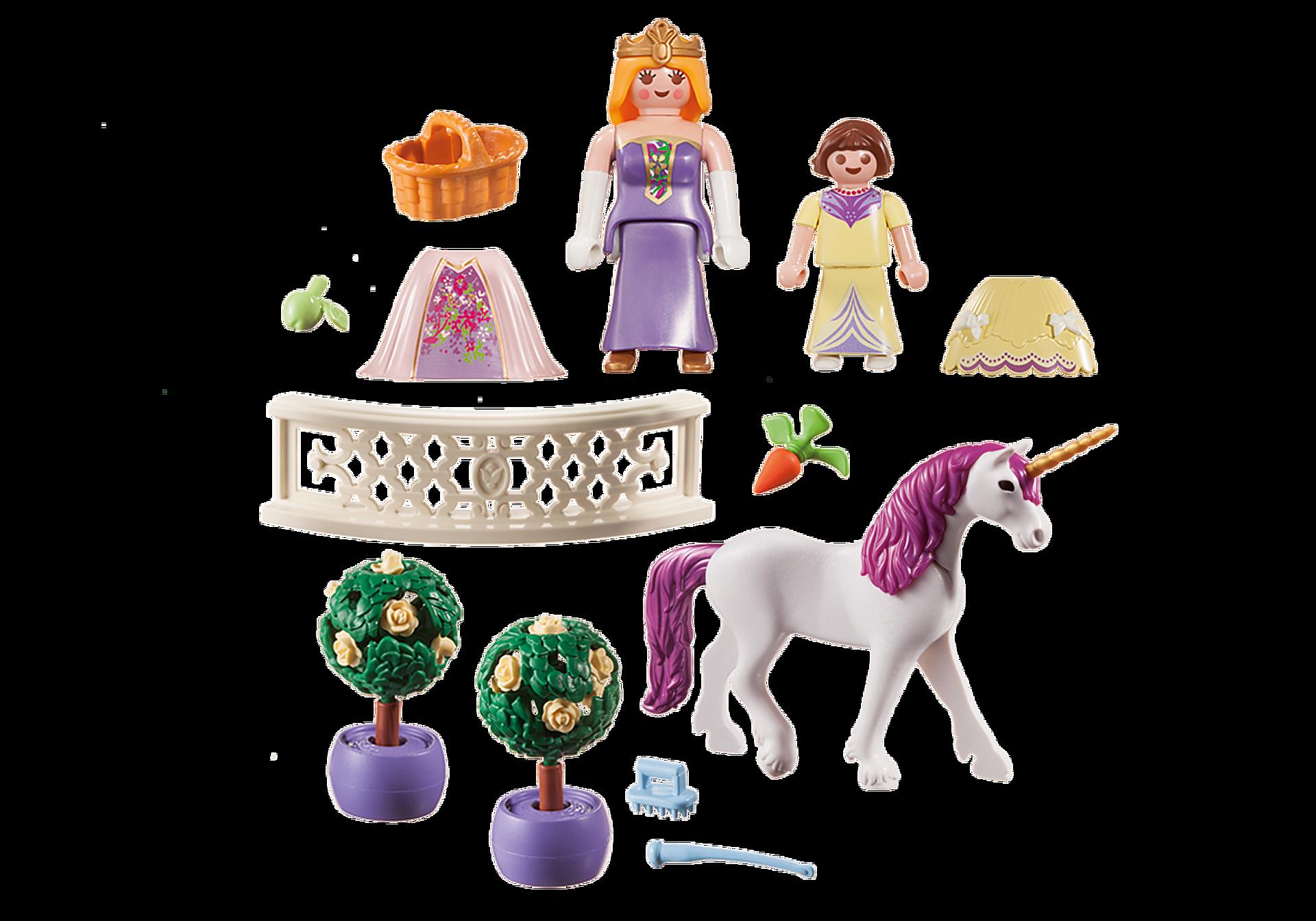 70107 Valisette Princesses avec licorne zoom image3