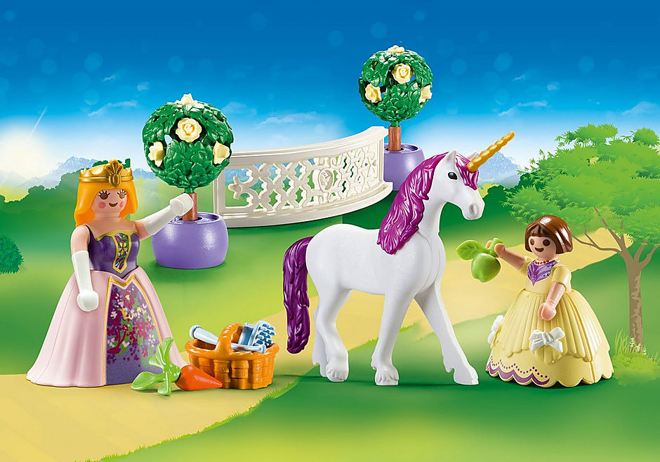 70107 Maleta grande Princesas e Unicórnio detail image 1