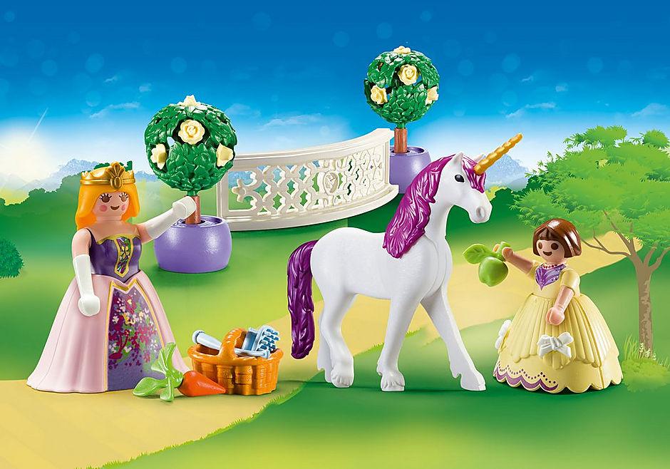 70107 Valisette Princesses avec licorne detail image 1