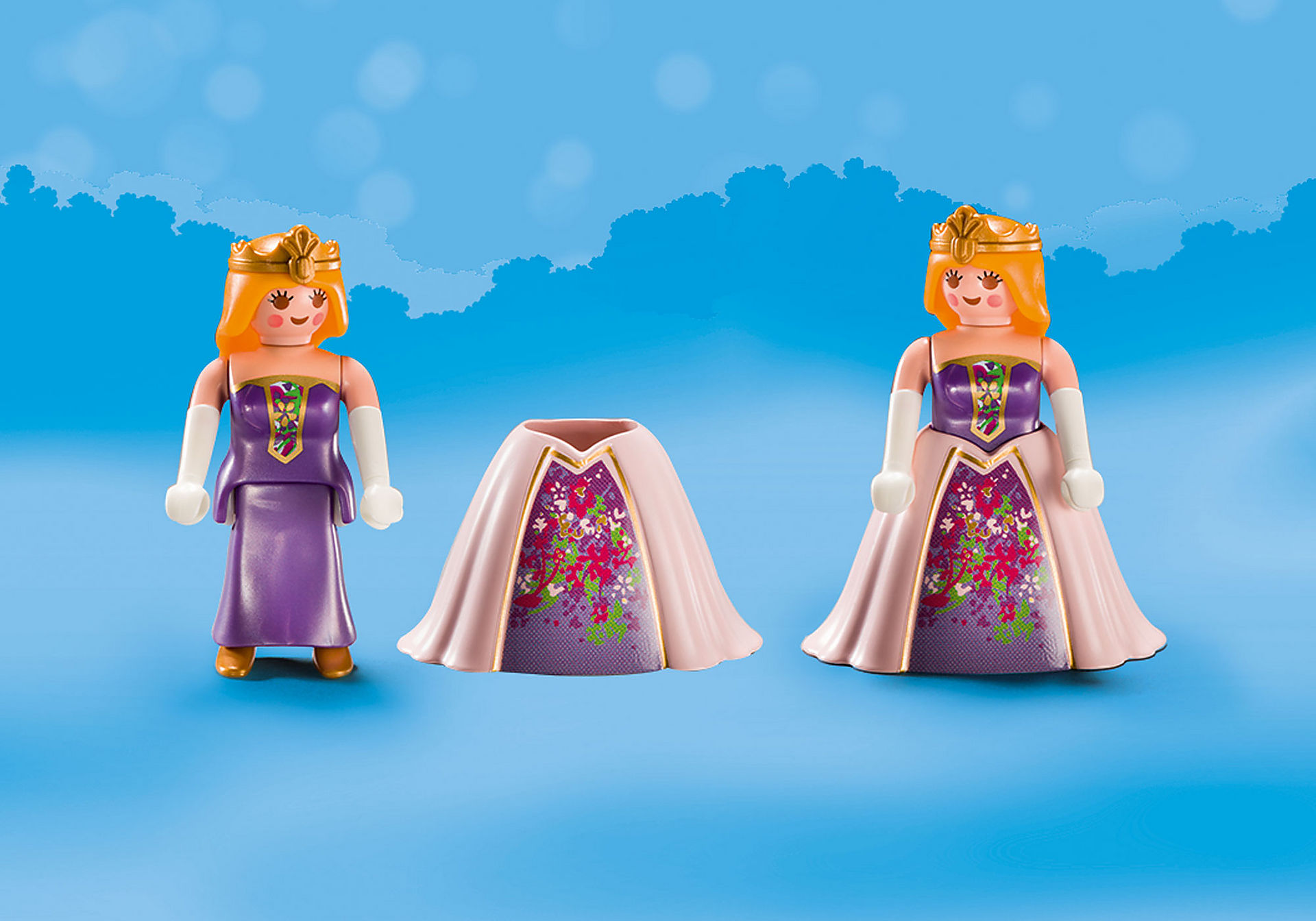 70107 Maletín grande Princesas y Unicornio zoom image4