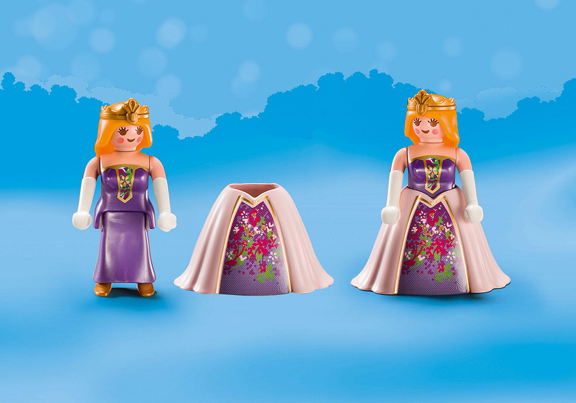 70107 Valisette Princesses avec licorne zoom image4