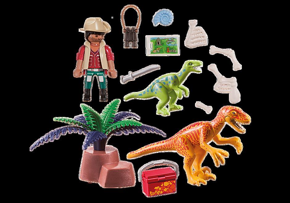 70108 Maletín grande Dinosaurios y Explorador detail image 3