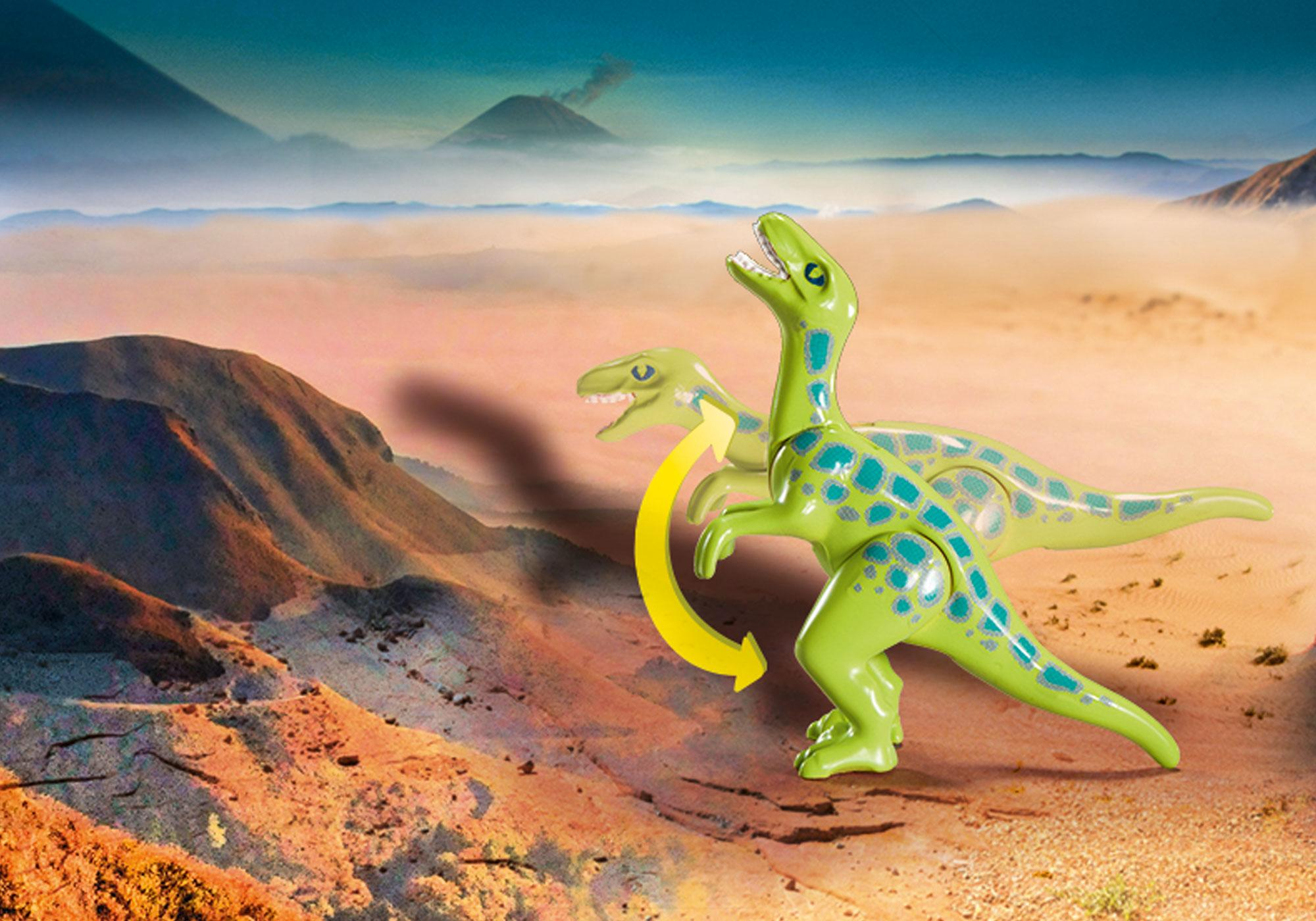 Playmobil 70108 Large Dino Explorer Carry Case 18PC Playset