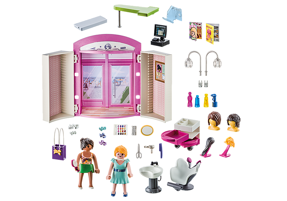 70109 Beauty Salon Play Box detail image 3