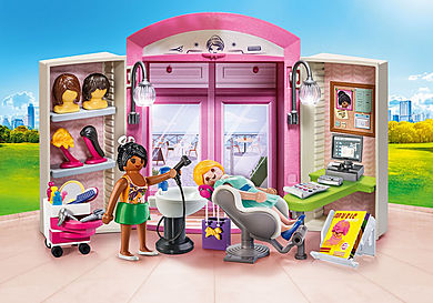 70109 Beauty Salon Play Box