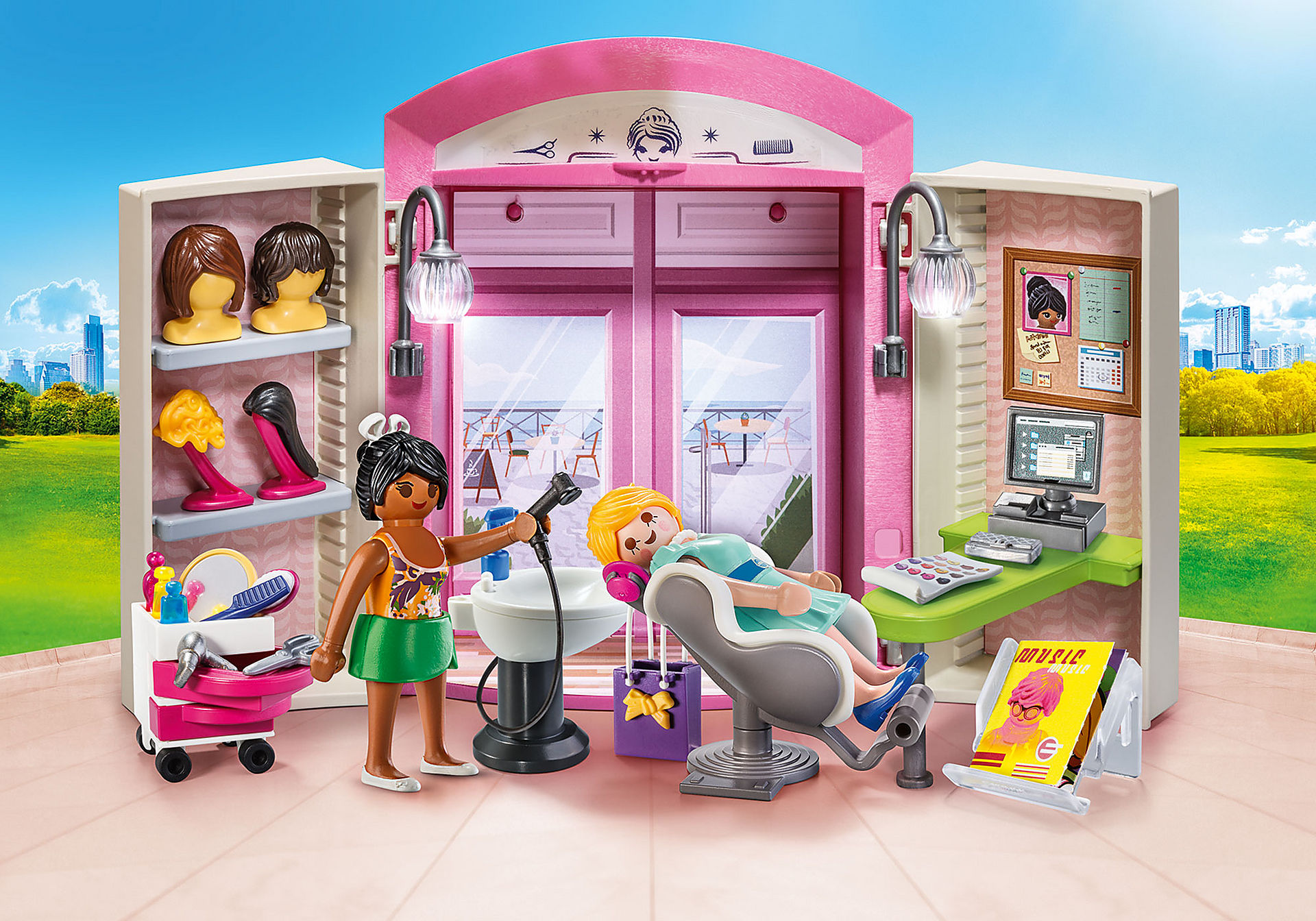 70109 Beauty Salon Play Box zoom image1