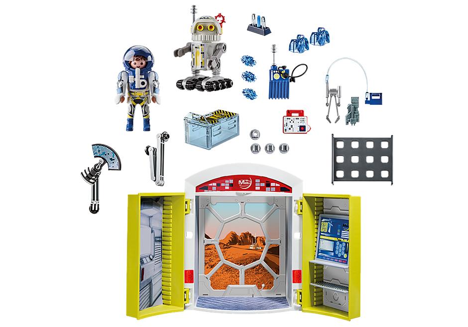 70110 Mars Mission Play Box detail image 3