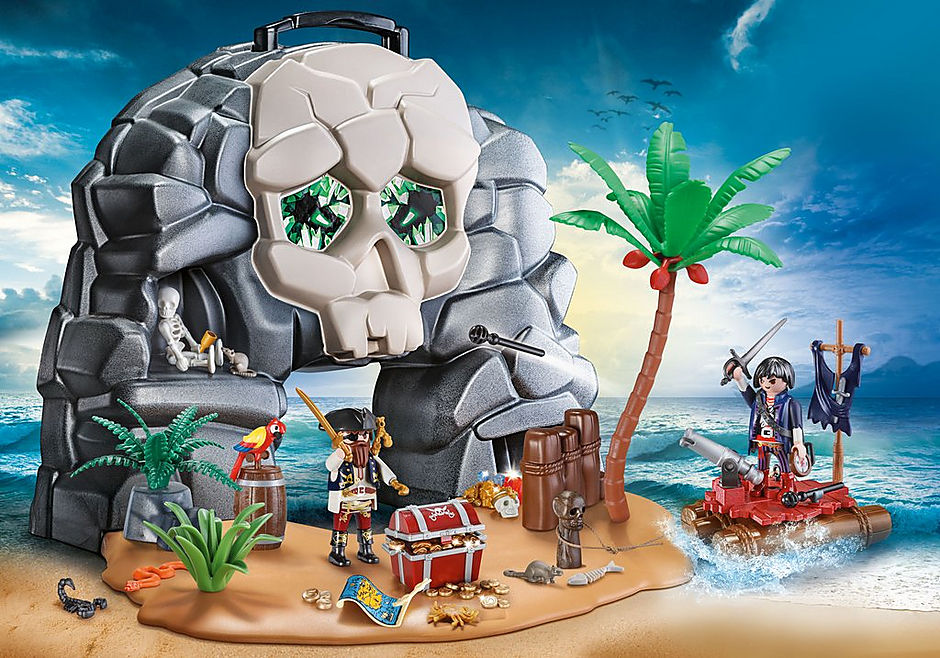 70113 Take Along Pirate Skull Island detail image 1
