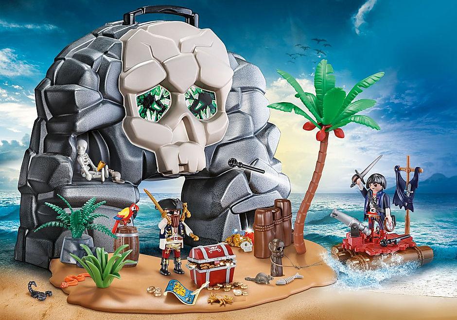 70113 Take Along Pirate Skull Island detail image 1