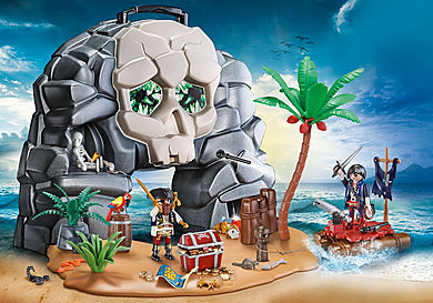 70113 Take Along Pirate Skull Island
