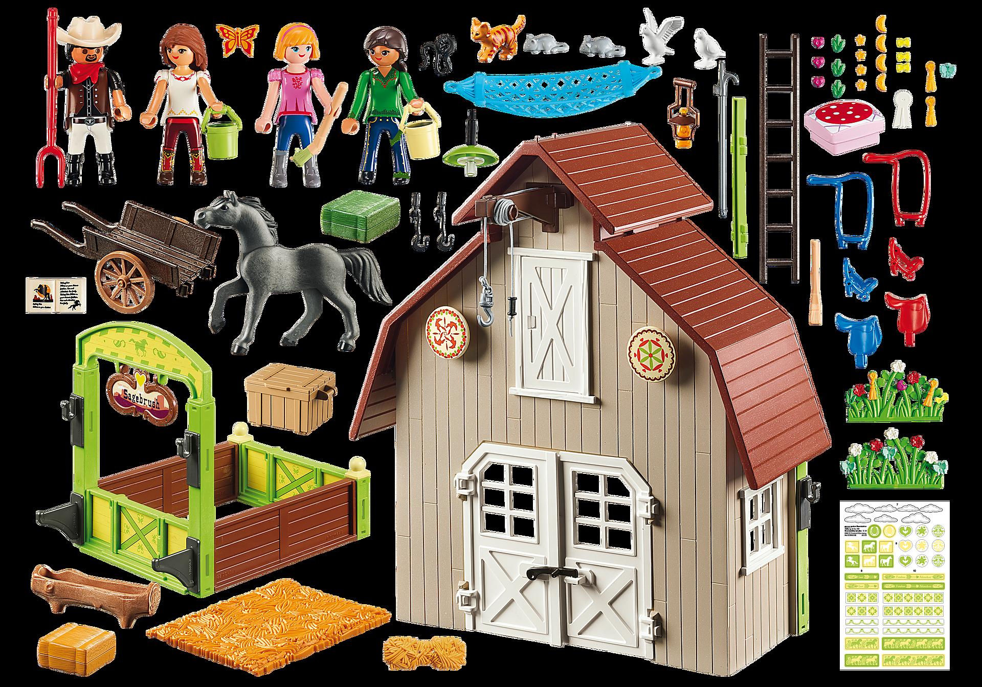 http://media.playmobil.com/i/playmobil/70118_product_box_back/Barn with Lucky, Pru & Abigail