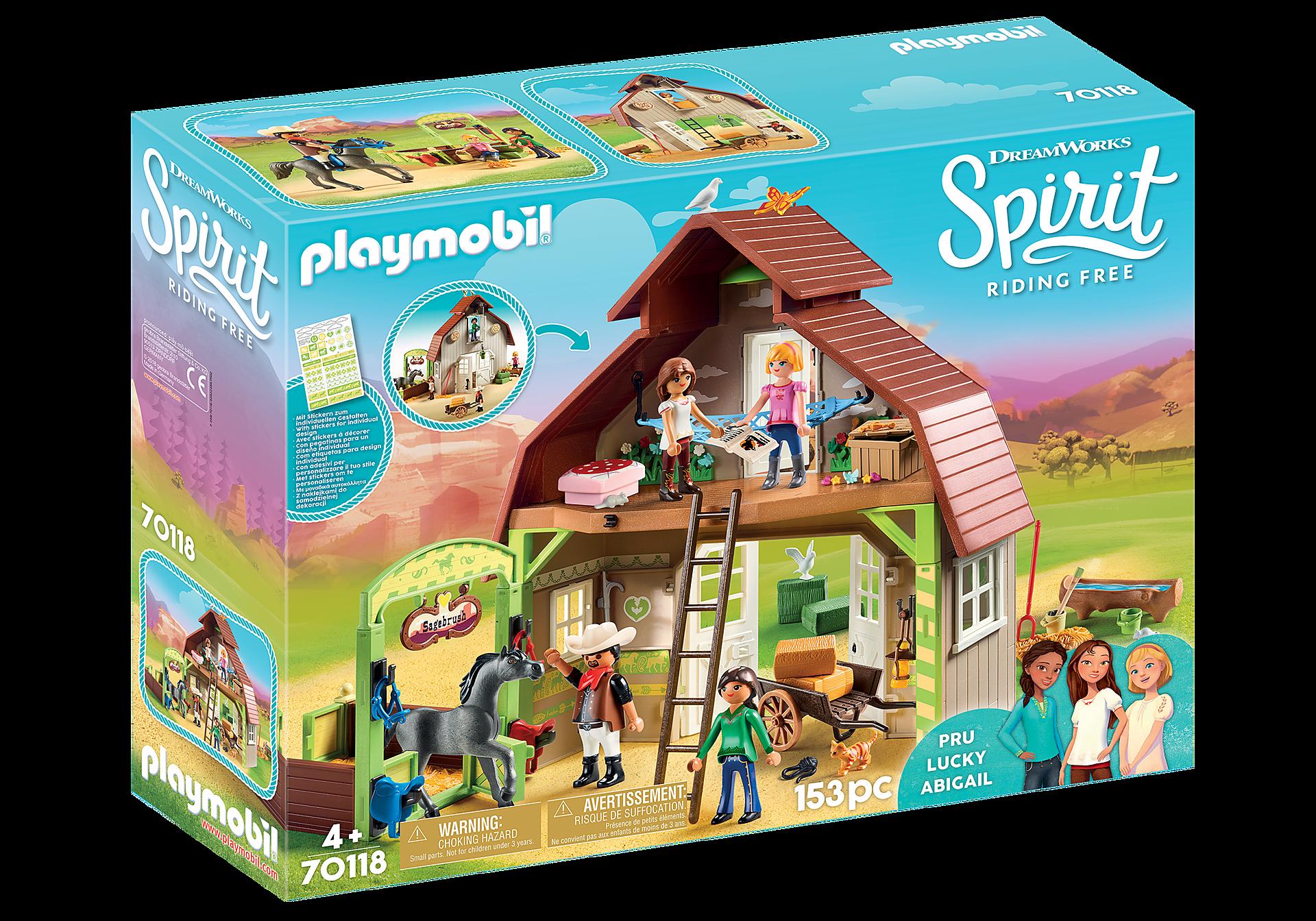 http://media.playmobil.com/i/playmobil/70118_product_box_front/Aχυρώνας με τη Λάκυ, την Πρου και την Άμπιγκεϊλ