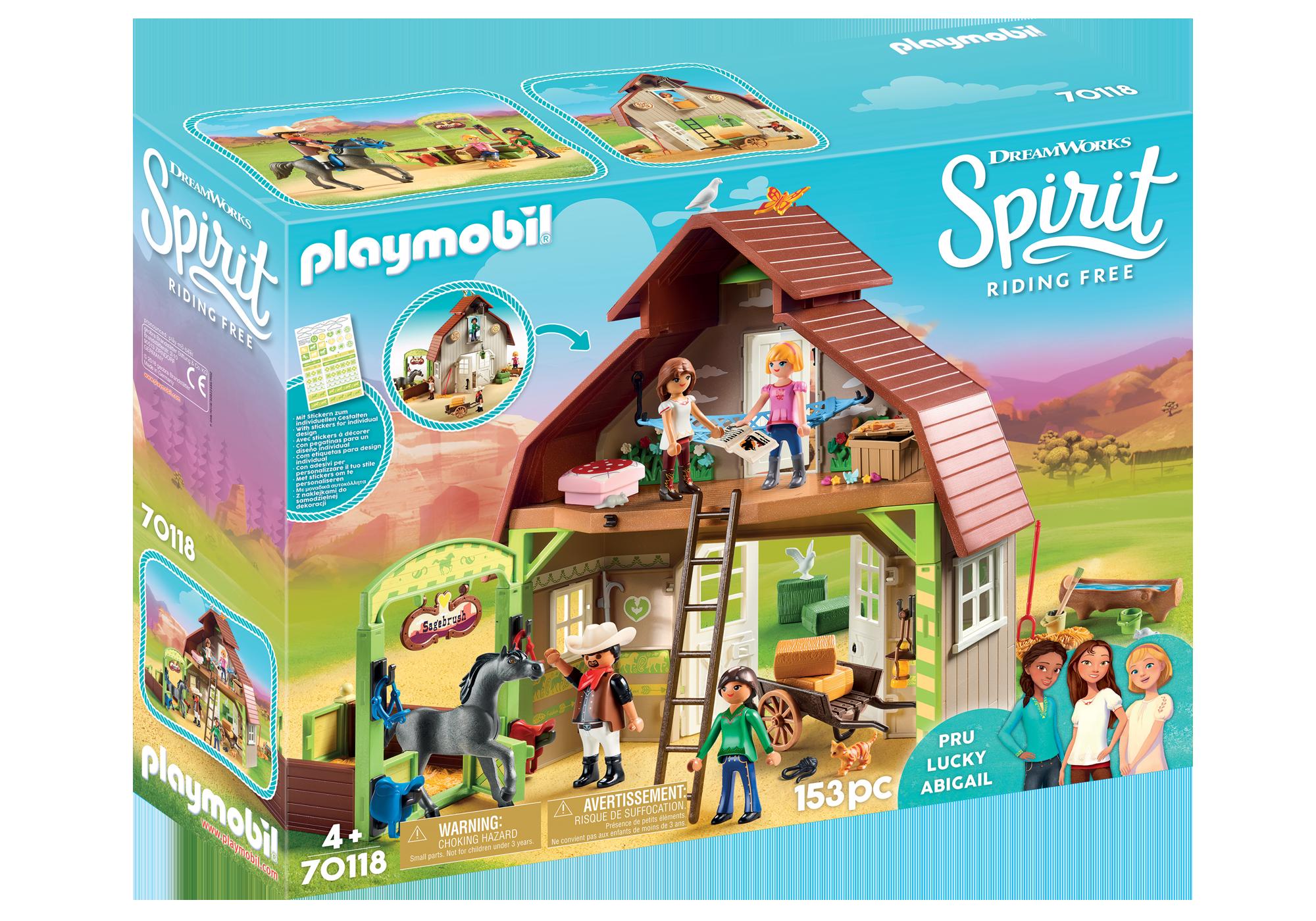 http://media.playmobil.com/i/playmobil/70118_product_box_front/Establo con Fortu, Pru y Abigaíl