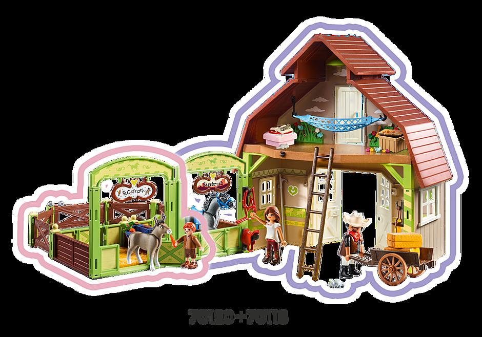 70118 Ladugård med Lucky, Pru och Abigail detail image 7