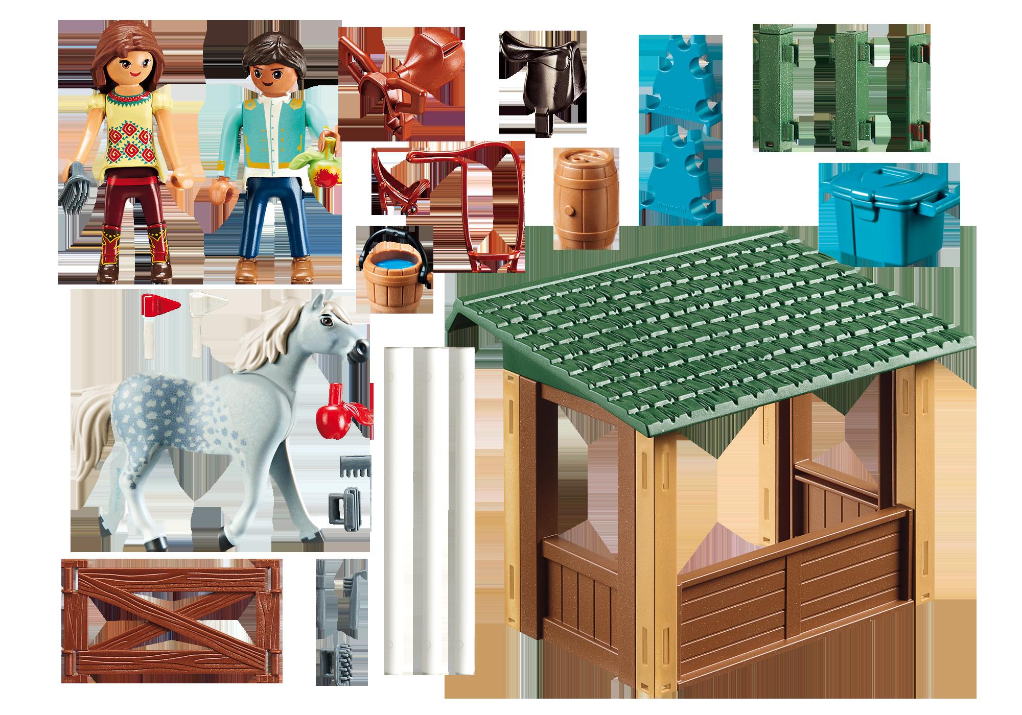 http://media.playmobil.com/i/playmobil/70119_product_box_back/Reitplatz mit Lucky & Javier